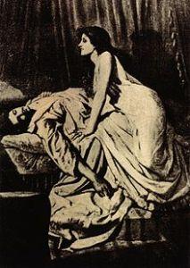 The Vampire, by Philip Burne-Jones, 1897 (Wikipedia)