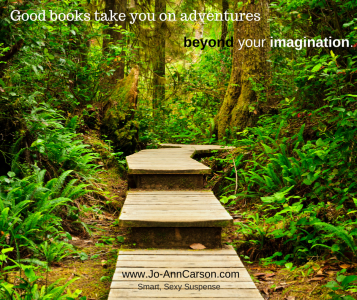 A book can take you places