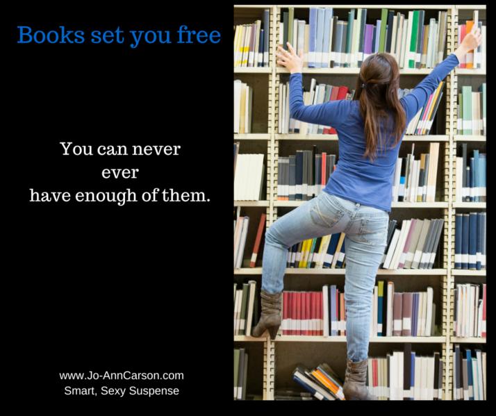 Books set you free