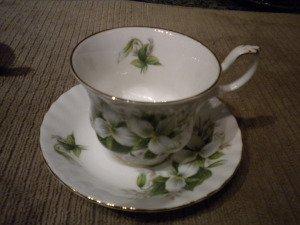 Trillium Tea Cup (before)