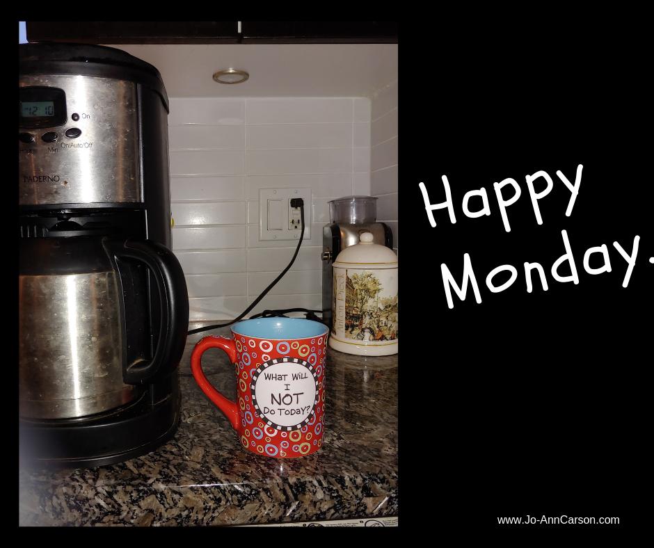 Happy Monday.