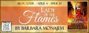 lady of flames banner
