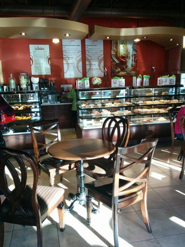 A decadent dessert cafe where the Saskatchewan writers meet.